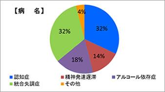 病名円グラフ